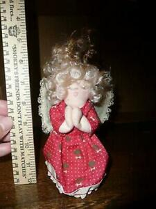 VINTAGE ANGEL MATERIAL ORNAMENT COLLECTION SALE $16.99