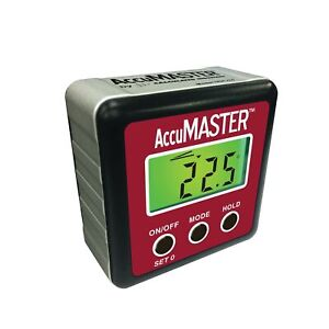 Calculated Industries 7434 AccuMASTER 2 in 1 Magnetic Digital Level and Angle... $36.99