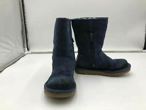 Women#x27;s Size 1 Ugg Shearling Blue Used boots