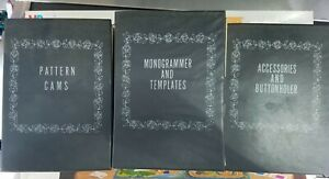 Vintage Sears Kenmore Sewing Machine Pattern Cams Monogram Templates Attachments $54.90