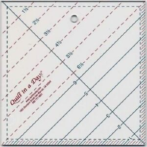 6 1 2quot; Triangle Square Up Ruler quot;Quilt In A Dayquot; Clean Clear Lines $14.95