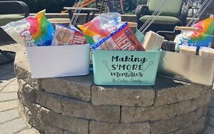 S'mores Caddy Barbecue CaddyMetal Caddy. Caddy. Personalized Caddy