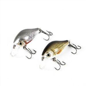 Crankbaits Fishing Lure Floating Pike Black Lures Artificial Bait Fishing Tac X#