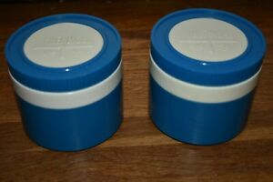 LOT OF 2 VINTAGE THERMOS INSULATED JAR KING SEELEY #1155 SOUP HOT FOOD OR COLD