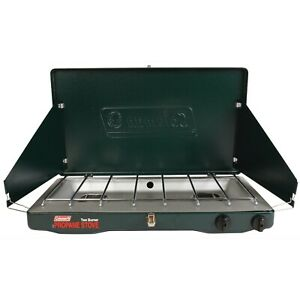 SALE Coleman Classic Propane Gas Camping Stove 2 Burner Free Shipping