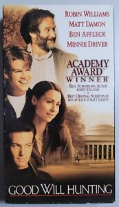 Good Will Hunting VHS 1998