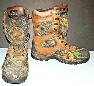 Men#x27;s 14 M RedHead Insulated Waterproof Hunting Boots Camouflage 520 41403