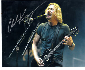 Chad Kroeger lead singer for Nickleback Autograph 8quot;x10quot; Signed Photo $100.00