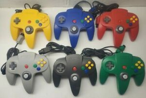 Official Nintendo 64 Controller OEM N64 Choose the Color Tight Sticks CLEAN $29.99