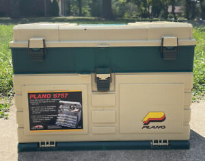 Plano 5757 XL Tackle Box 4 Drawer Container Fishing Supplies XL Top storage