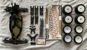 kyosho Ultima RB6.6 RB 7 Front Arms Parts Rolling Chassis $200.00