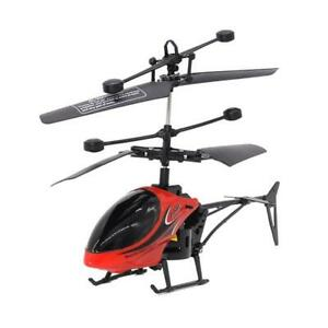 Mini USB Remote Control Helicopter Induction Aircraft RC Drone with Light US