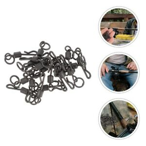 20pcs Fishing Connector Fishing Hook Connector Fishing Supplies for Beach Sea