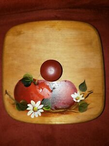 Longaberger Small Berry Basket lid only apples $18.00