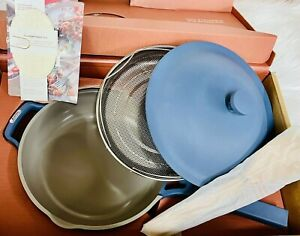 OUR PLACE YOUR EVERYTHING AND ALWAYS PAN WITH SPONGE NEW BUT SCRATCHED
