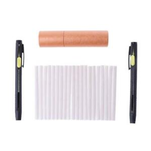1 Set Tailors Chalk Pen Pencil Dressmakers Invisible Marking Sewing Fabric Cloth $6.18