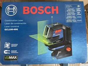 NEW BOSCH GCL100 40G 💥VISIMAX COMBINATION LASER 4 TIMES BRIGHTER SHIPS FREE⚡️ $198.00