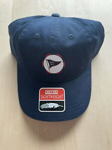 Wee Burn Country Club American Needle Lightweight Hat Rare Flag Logo Blue New $99.99