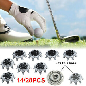 28x Replacement Soft Fast Twist Studs Tri Lok Golf Shoes Spikes Pins For Footjoy