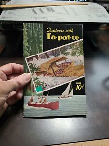 Vintage 1946 Ta pat co Outdoor Sporting Goods Catalog