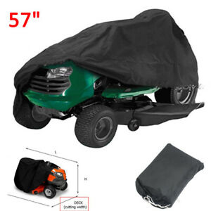 57quot; Long Riding Lawn Mower Cover Outside UV All weather Protection Garden Yard $14.89