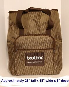 Brother Sewing and Embroidery Machine Bag Tote with Handle $57.99