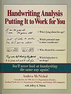 Handwriting Analysis : Putting It to Work for You Paperback Andre