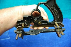 Antique Stanley Sweetheart No.238 Plow plane weather stripping Moulding $95.00