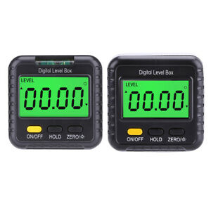 360 Degree Magnetic Digital Inclinometer Angle Meter Finder Protractor Tool $15.27
