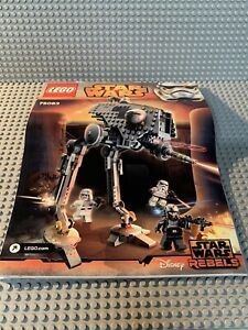 LEGO Star Wars Rebels AT DP Set #75083 100% Complete Partially Used