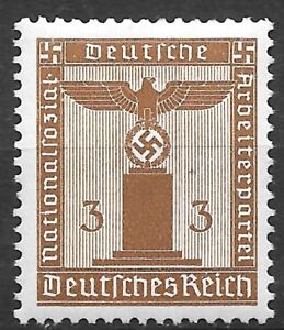 Nazi Germany Third Reich Mi# 156 Official Stamp 1942 MNH ** $1.50