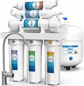Alkaline Mineral pHReverse Osmosis Water Filtration System Under Sink Filters $134.99