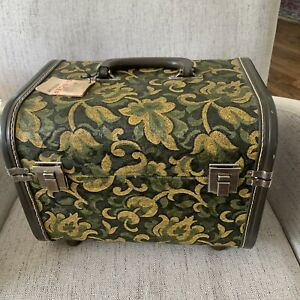 Vintage Singer Storage Sewing Cosmetic Carrying Box $74.00