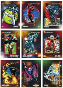 1992 Impel Marvel Universe Series 3 **YOU CHOOSE** Trading Comic Super Cards $2.23