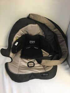 Graco Pedic Luxury Foam Car Seat Liner Safety Canopy Sun Shade Baby Child $34.99