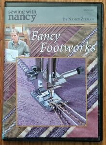 Sewing with Nancy Zieman Fancy Footworks DVD 2006 Sewing Quilting SN2014D $39.99