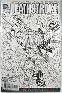 DC Deathstroke #14 Adult Coloring Book Variant 2016 $3.00
