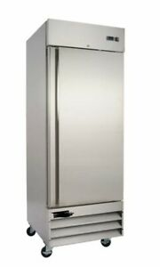 North Pole Commercial Freezer Single Door Reach In NP23 120v Stainless $1899.00