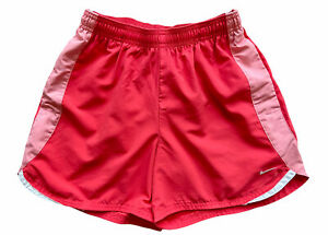 Womens Nike Running Shorts Size Small Pink Coral $12.00