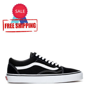 HOT SALE: Old Skool Black White Shoes Free Shipping $45.00