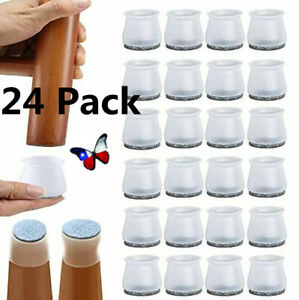 8or24 Ruby Slider Chair Leg Protector For Hardwood Floors Fits All Shape Chair $13.99