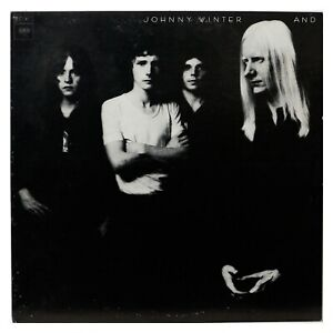 JOHNNY WINTER AND JOHNNY WINTER AND 1972 LP $7.99