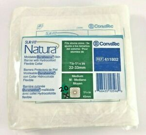 5 ConvaTec 411802 Natura Barriers 1 3 4 Flange New Sealed In Bag $21.50
