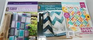 3 Fons amp; Porter Quilt Making Books Quilting Quickly Easy Collection $17.05