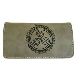 Rolling Cigarettes Tobacco Pouch Pu Leather Wallet Purse Holder Case Bag Sn