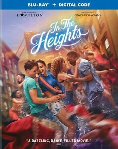 In the Heights Blu ray Digital 2021 $13.99