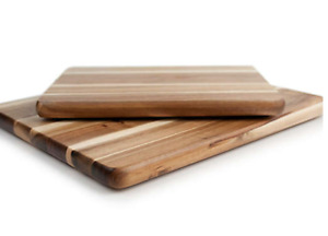 Our Table™ 2 Piece Acacia Wood Cutting Board Set