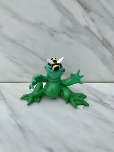 Kitty#x27;s Critters HONEY 2009 Frog Figurine with BEE in Box Rare