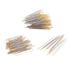 220Pcs Large eye Hand Sewing Needles Golden Tail Sewing Cross Stitch Tools $9.93
