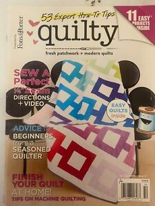 Quilty Magazine Mary Fons Issue 17 Final Issue by Mary $12.00